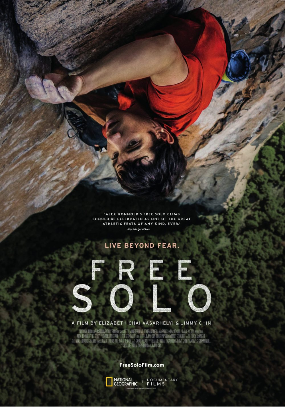 POSTER FREE SOLO-1