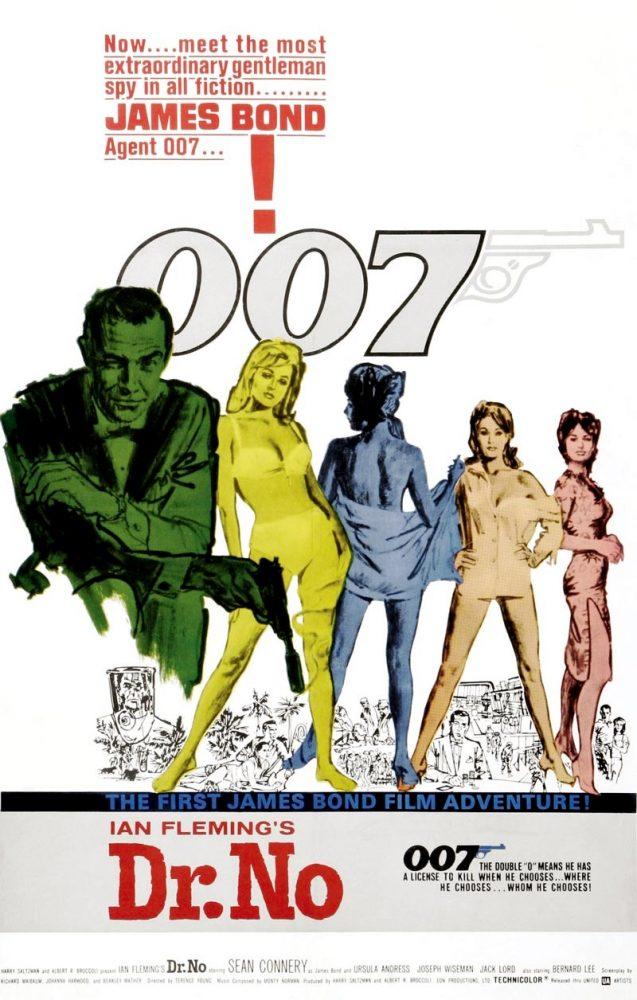 Topp 10 Favorit James Bond Filmer