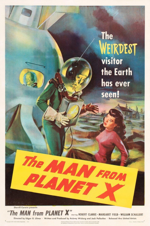 Skräckmånad 2021: The Man from Planet X